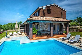 Villa Simone Gradina — Flengi, Vrsar, Vrsar-Funtana (Villa with pool) - Swimming Pool