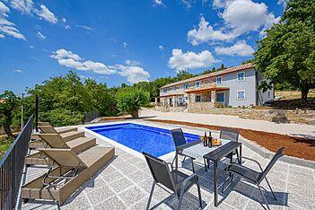 Madonna delle Nevi — Čepić, Oprtalj (Villa mit Pool) - Außenseite