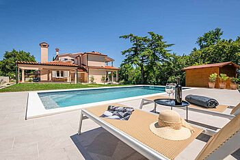 Villa Wanderlust — Presika, Labin, Rabac-Labin (Villa mit Pool) - Schwimmbad
