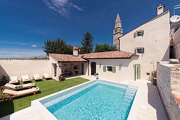 Villa Santina — Višnjan, Višnjan (Vila sa bazenom) - Bazen