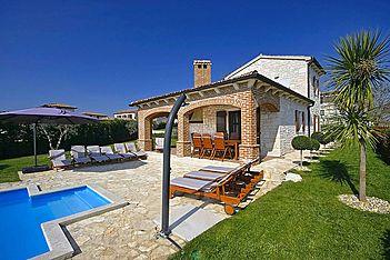 Villa Rustica — Barat, Višnjan (Vila sa bazenom) -