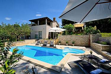 Villa Vidova — Bašići, Tinjan (Villa with pool) - Swimming Pool