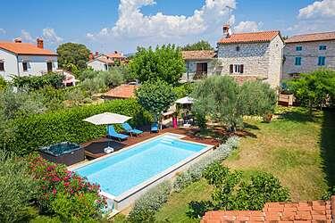 Villa Rossa — Rošini, Tar-Vabriga (Villa met zwembad) - Exterieur