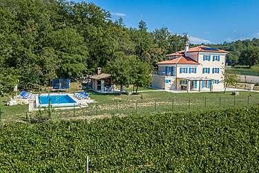 Villa Kanedolo — Kremenje, Buje, Umag-Novigrad (Villa with pool) - Exterier