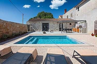 Villa Dvori — Antonci, Poreč (Villa with pool) - Swimming Pool